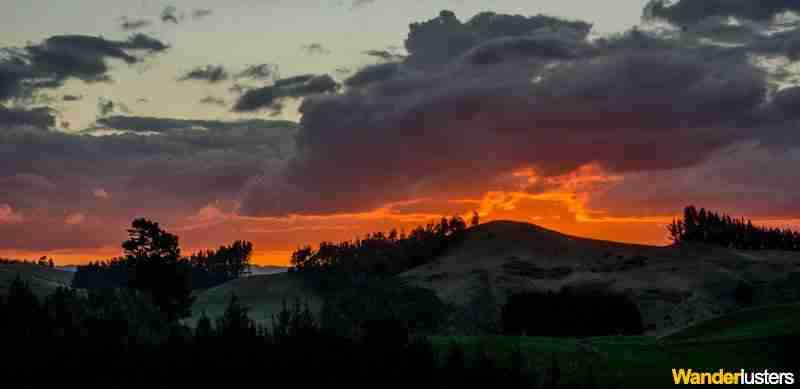 Sunset - Papamoa Hills