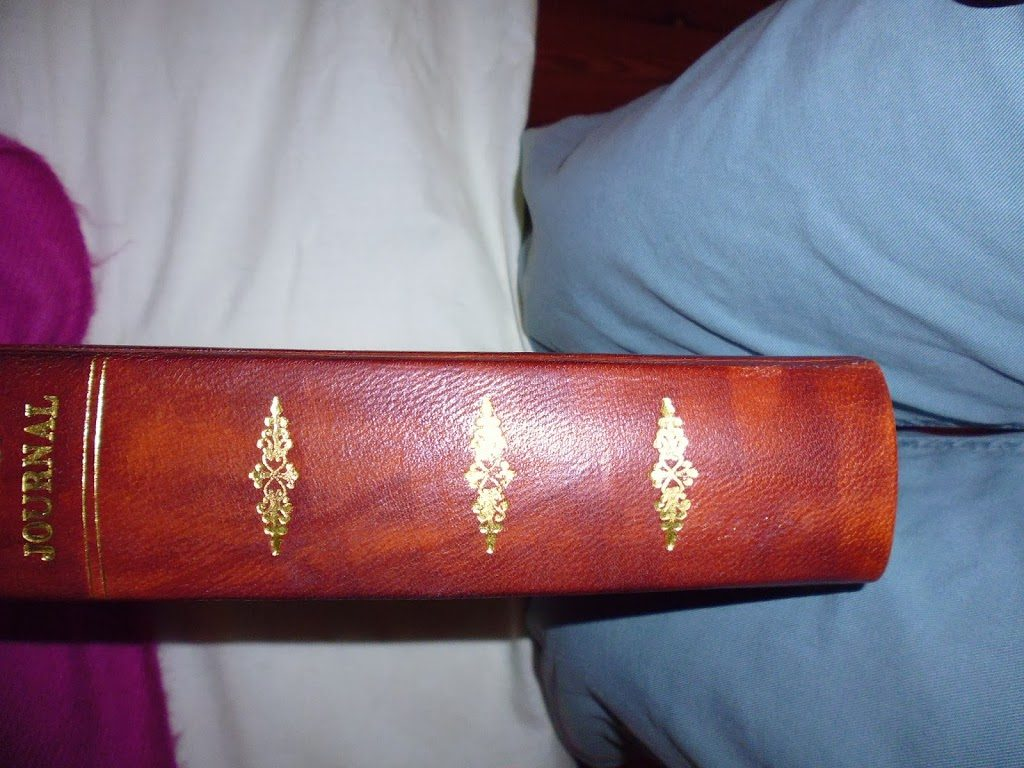 Beautifully hand bound journal