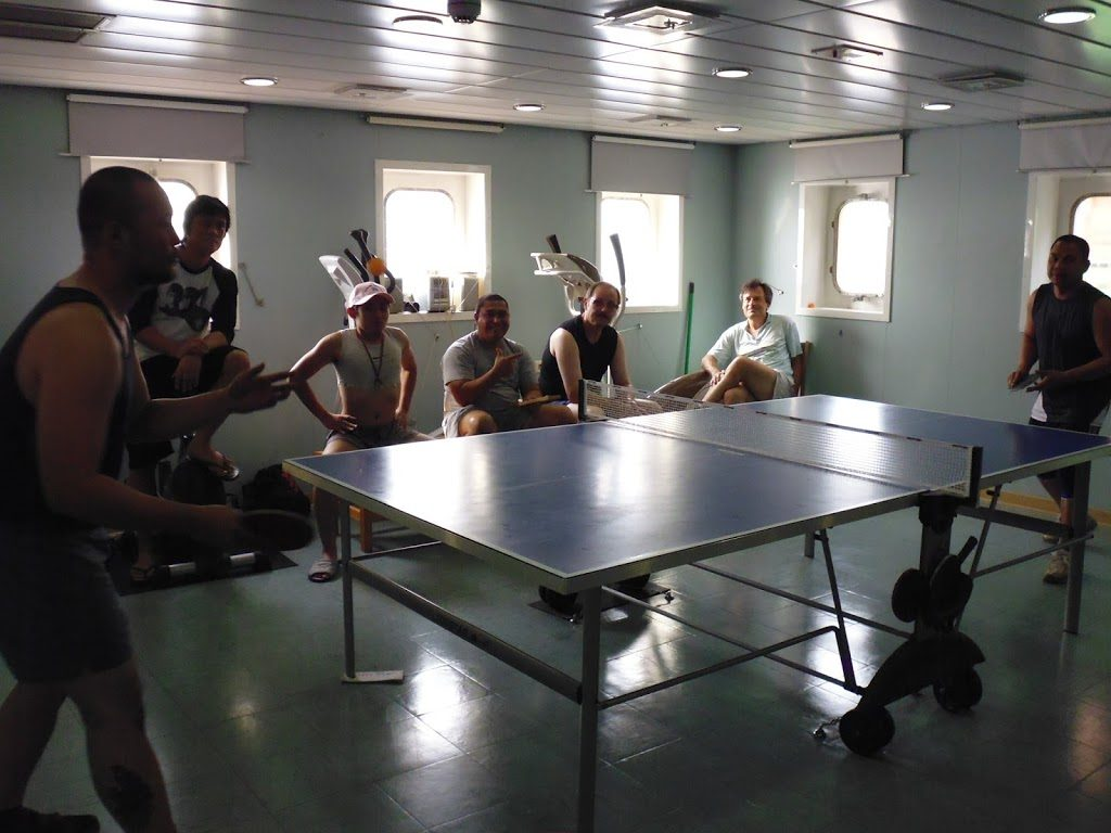 Table tennis - in which I lost badly