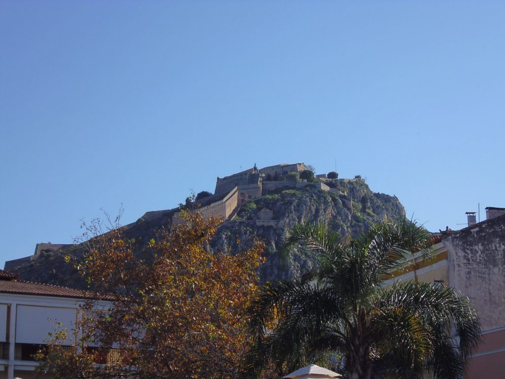 Palamidi Castle, Nafplio. Athens to Nafplio Day Trip, Greece. LifeBeyondBorders