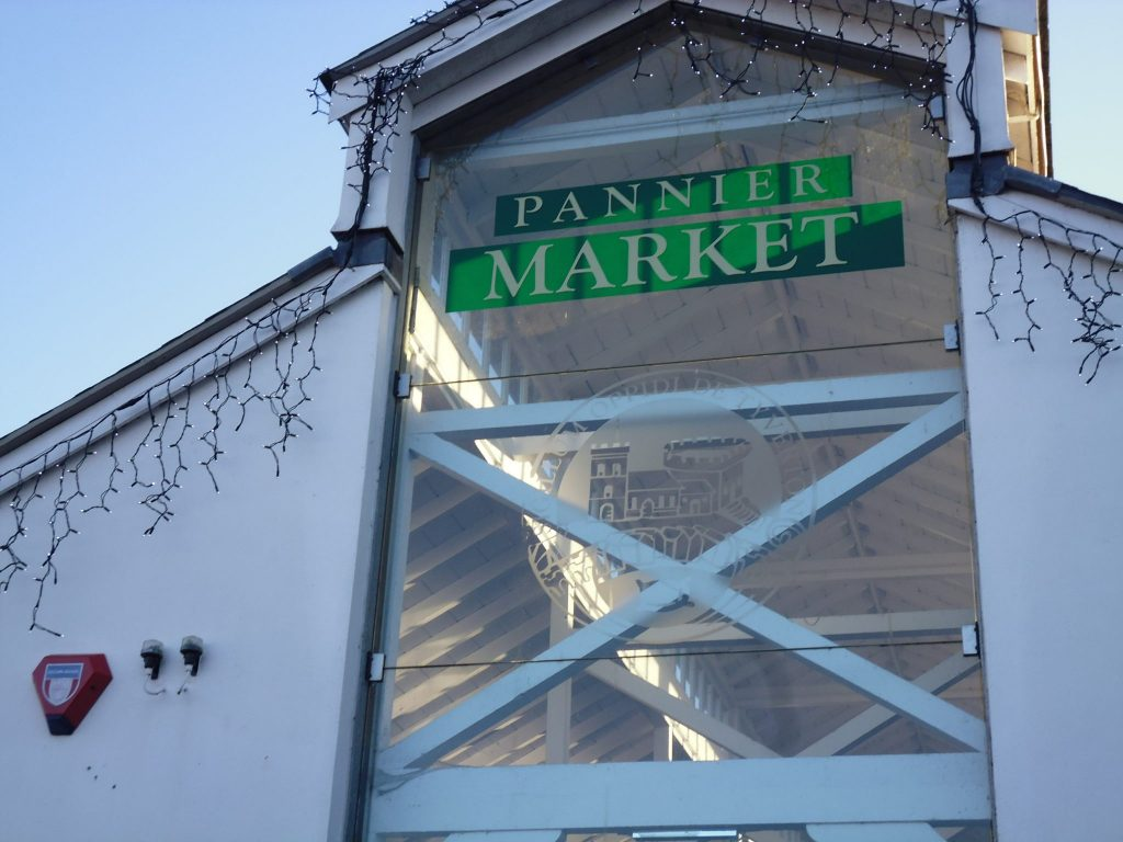 Tiverton Pannier Market, Tiverton, Devon, UK