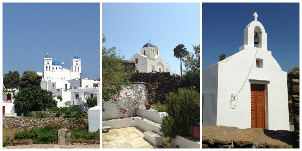Tiny selection of churches to see on Sifnos