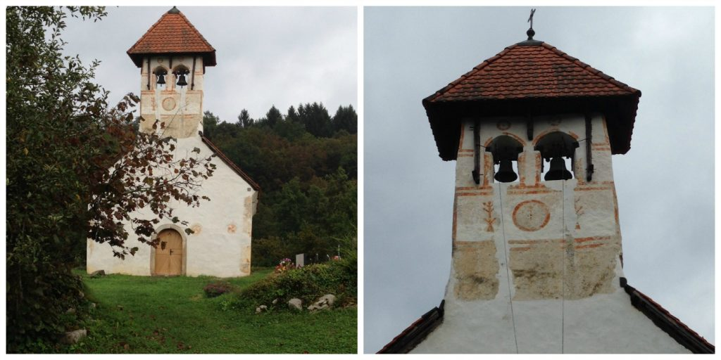 All Saints Church - Lahinja Karjinski Park - Slovenia