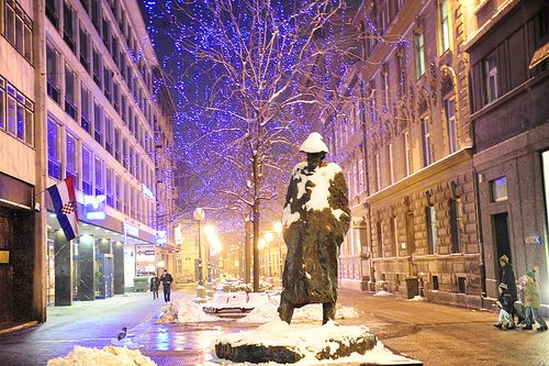 zagreb at christmas photo