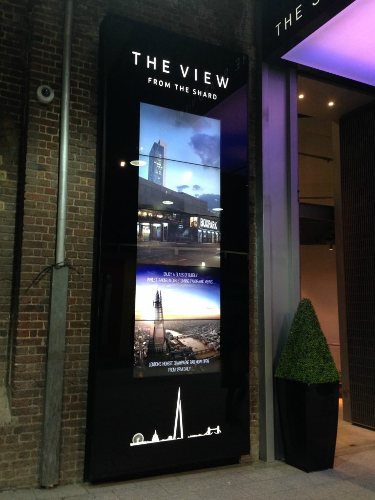 The Shard- entry