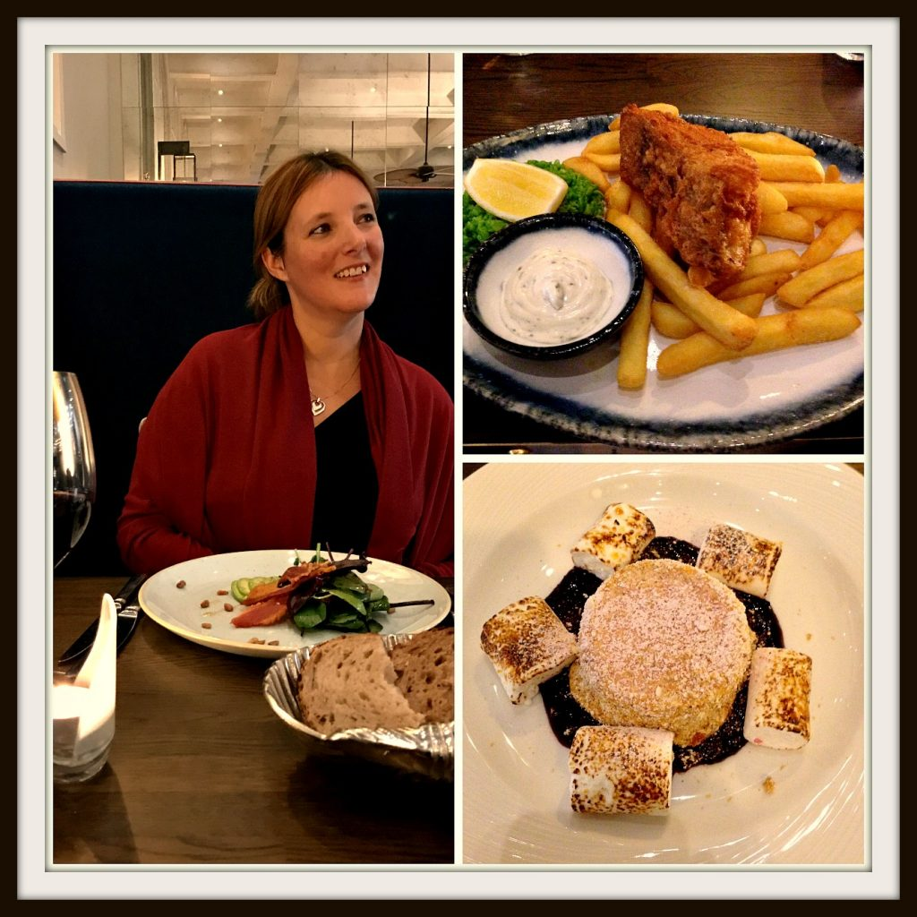 Dinner at the award-winning Jetty Restaurant - Bristol Harbour Hotel