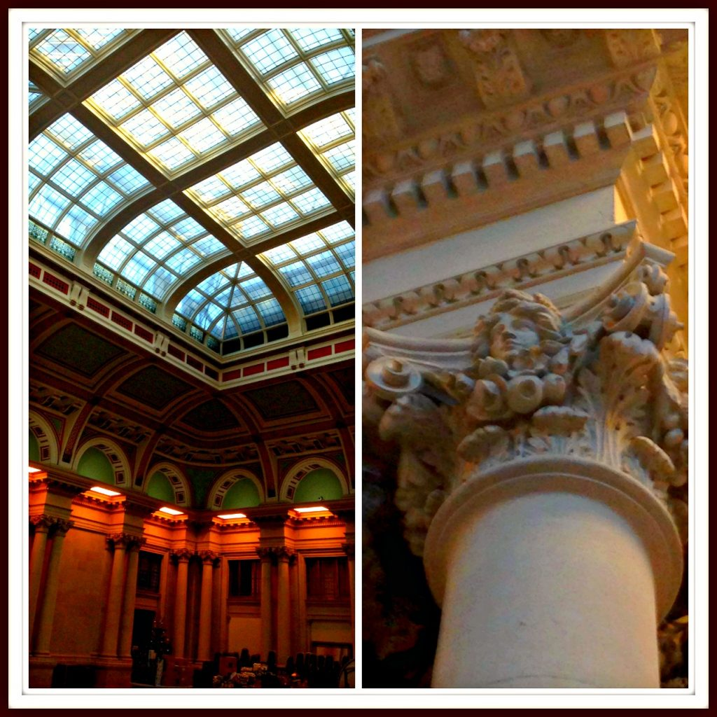 Events Hall with magnificent ceiling and all the original features of the old Lloyds Banking Hall - Bristol Harbour Hotel