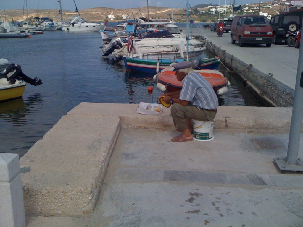 General, every day life in Paros