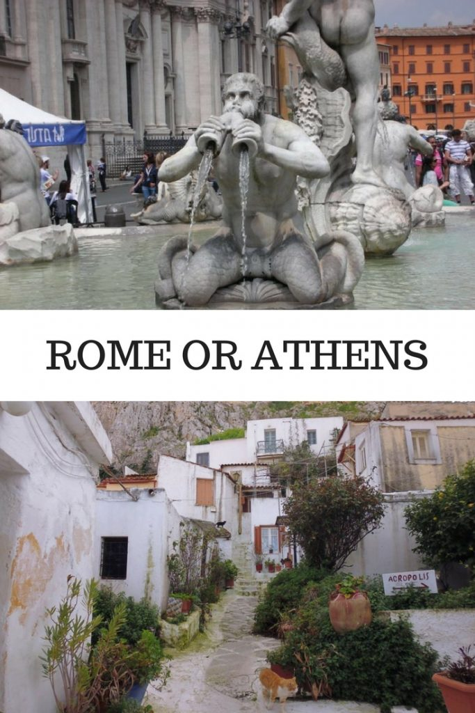 Rome or Athens?