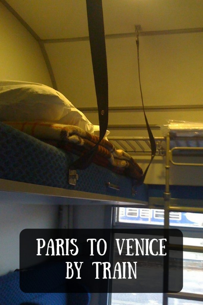 Paris to Venice by Train