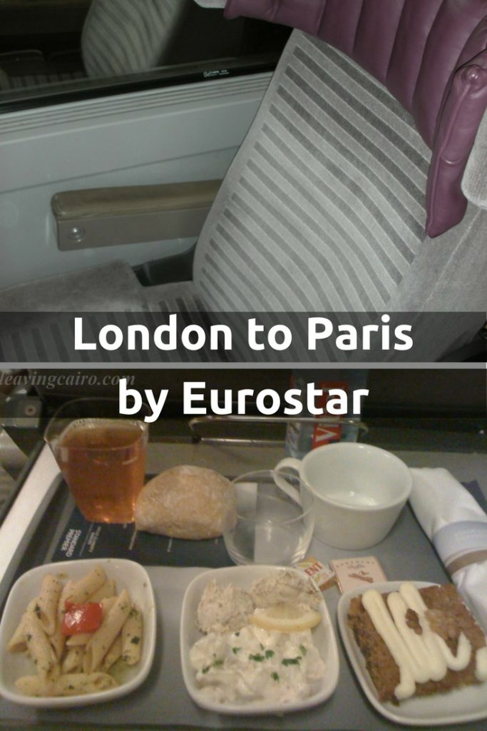 London to Paris by Eurostar