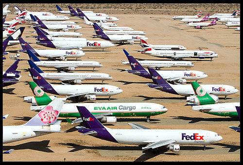 airplane boneyard california photo