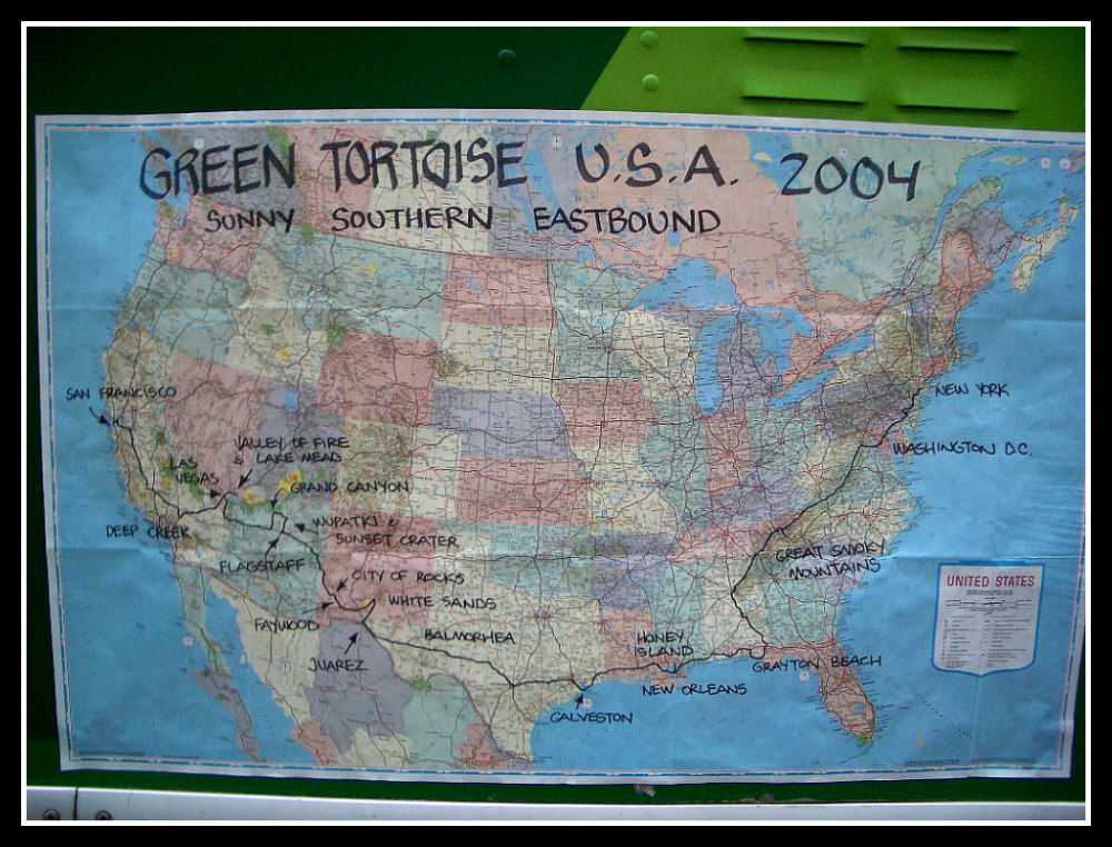 Road Trip across the United States with Green Tortoise Adventure Travel