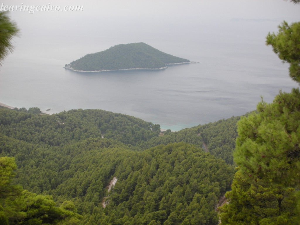 It's a very green island, is Skopelos