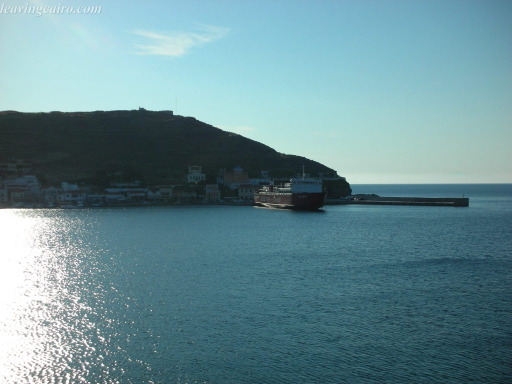Arriving into the port - LifeBeyondBorders