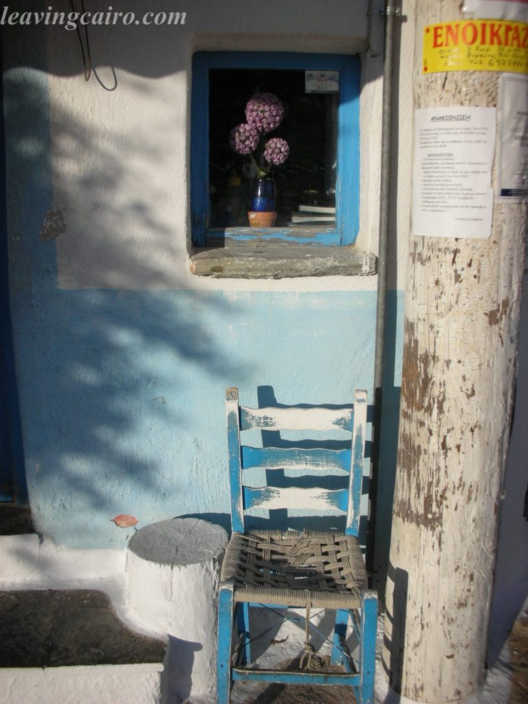 The Greek island of Kea, the Hora - the village atop the hill. LifeBeyondBorders