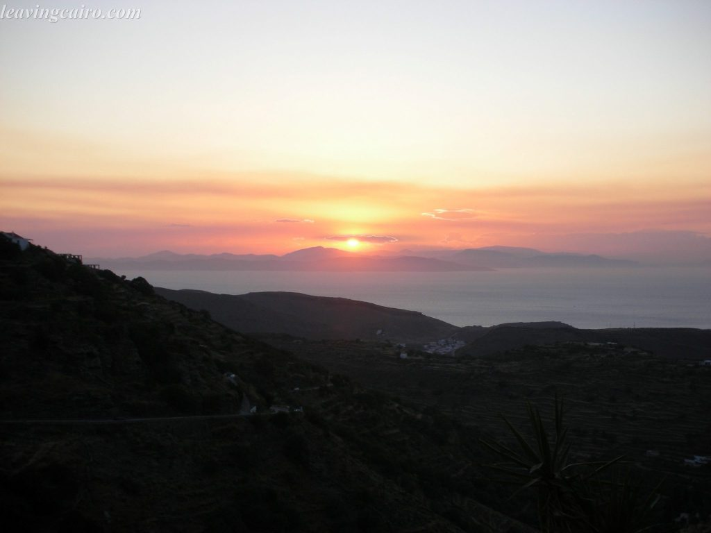 Kea island, Greece wouldn't be complete without experiencing the sunset. LifeBeyondBorders