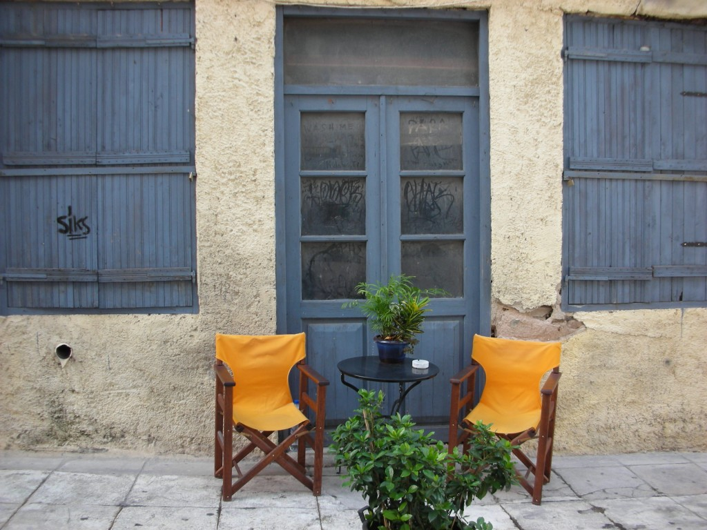 A nice place to sit and relax - Plaka