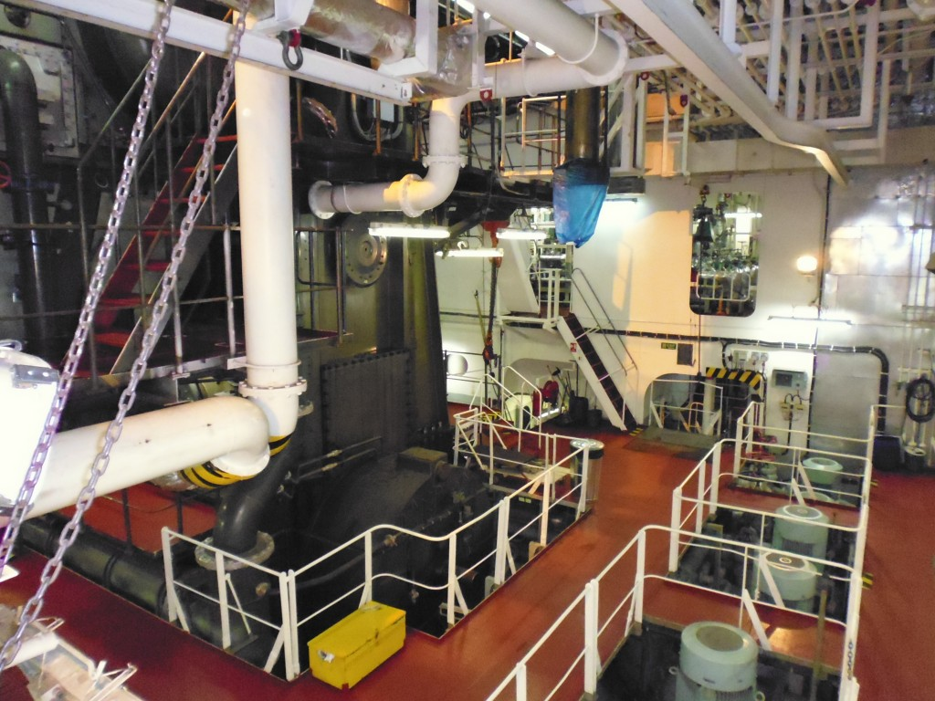 Engine Room - where 'Suzy' is housed