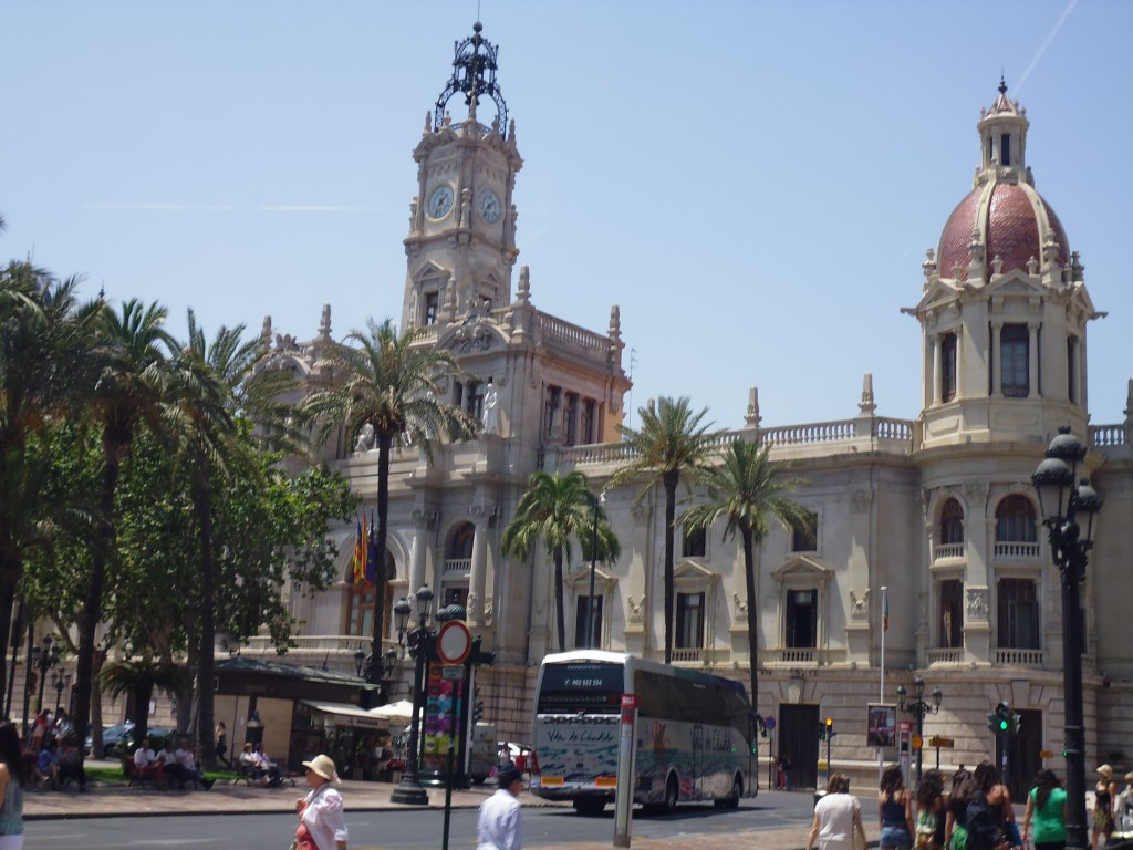 Valencia's a beautiful city
