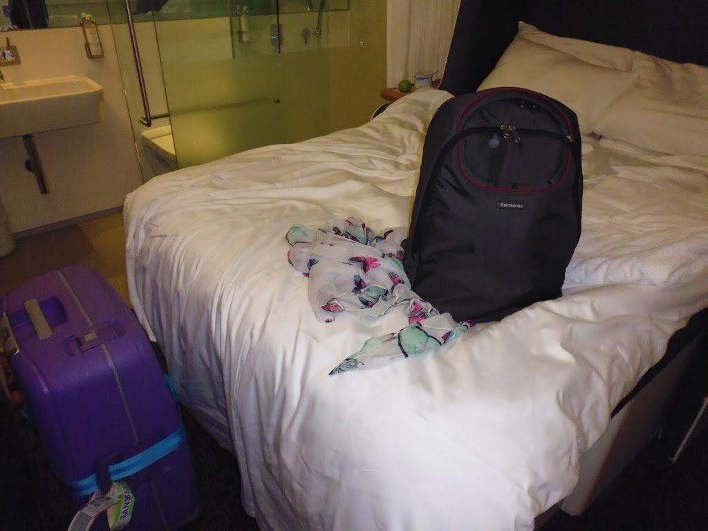 And my trusty Samsonite bags that helped me on my voyage