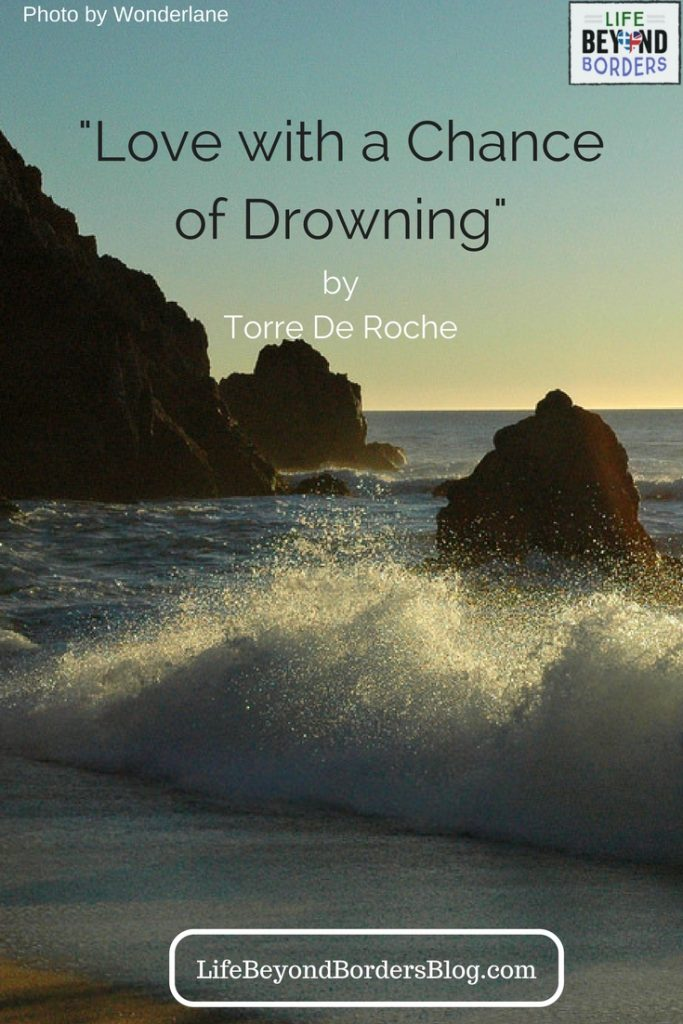 """Pacific Ocean scene. Torre De Roche travelled from America to Australia with her love on """"Amazing Grace"""" - a not very big yacht. And she was terrified of water! Read her memoir."""