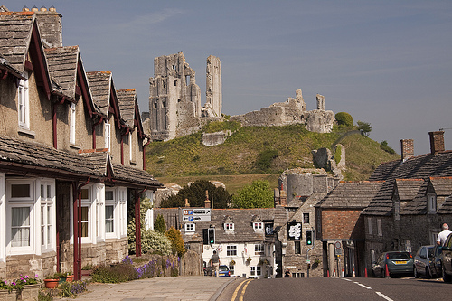corfe village dorset photo