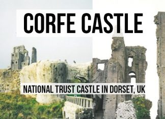 Corfe Castle Dorset, UK. A magical place