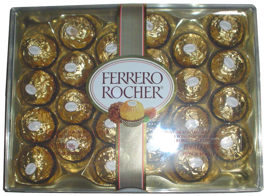 No Ferrero Roche Ambassador balls for me as an expat