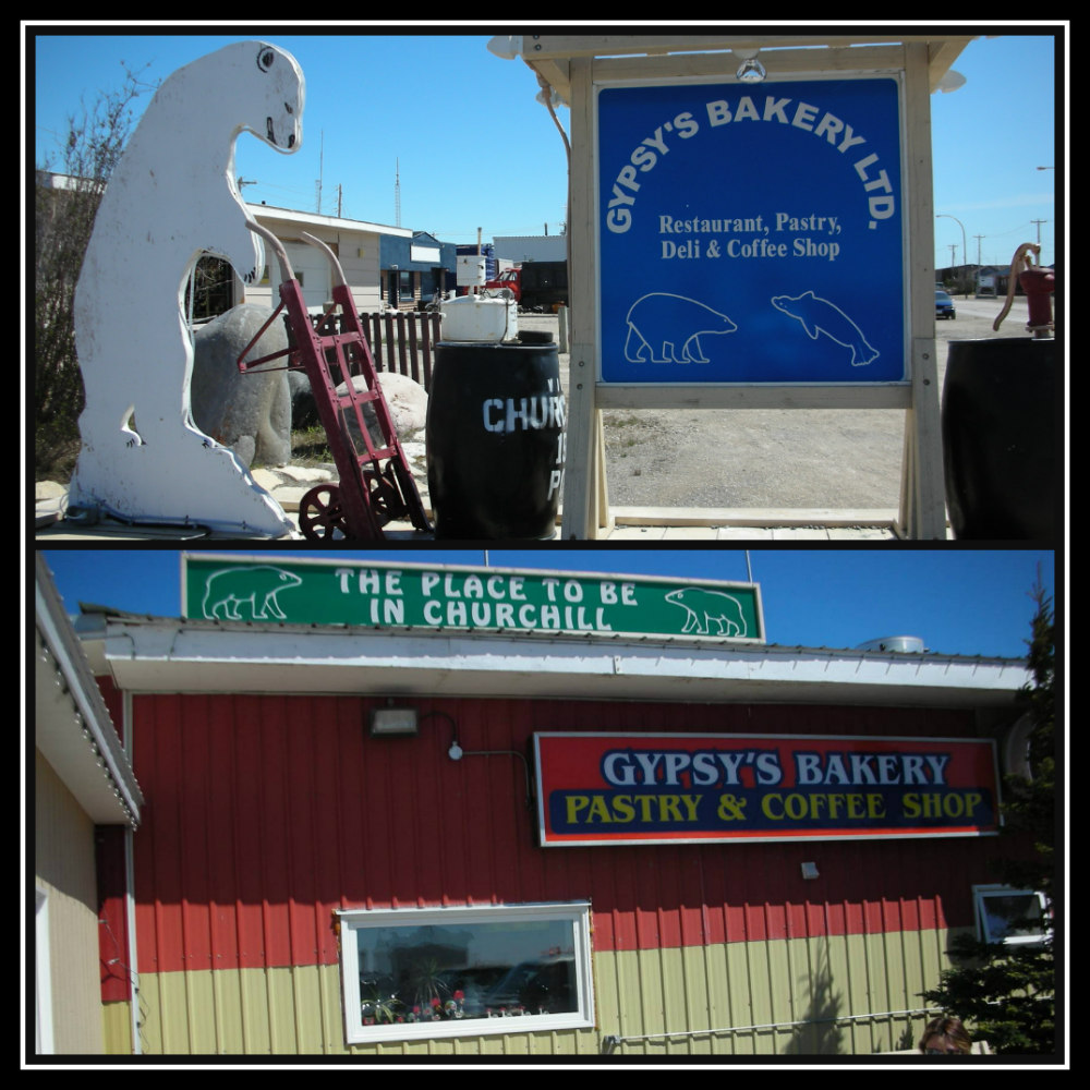Gypsy's Bakery - Churchill, Manitoba, Canada