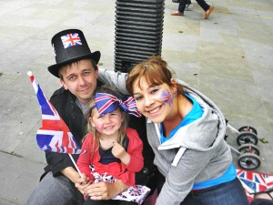 Queen's Jubilee - embracing British life