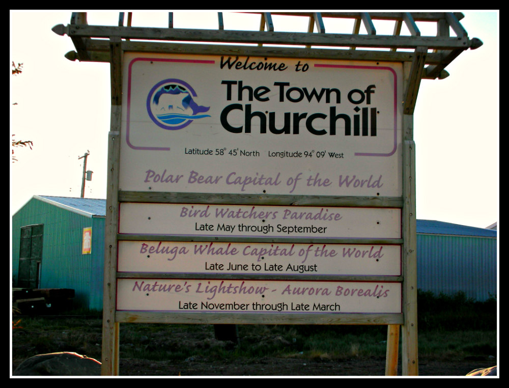 Welcome to the Town of Churchill, Manitoba, Canada
