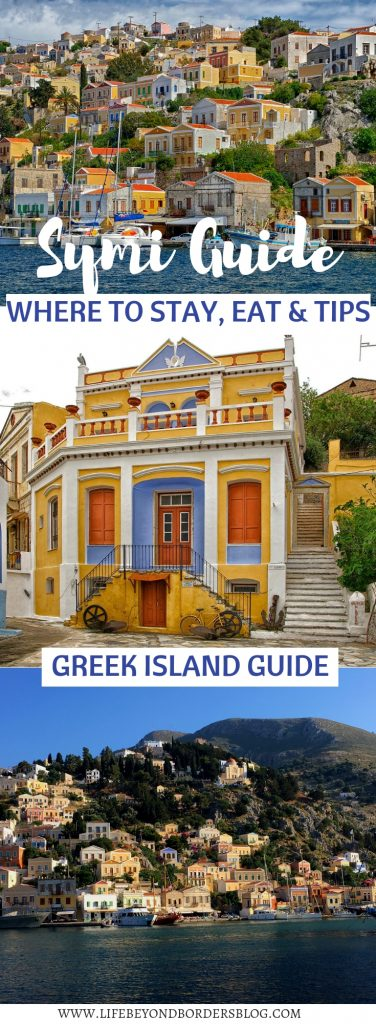 A Greek Island Guide to Symi - Where to Stay, Eat & Tips