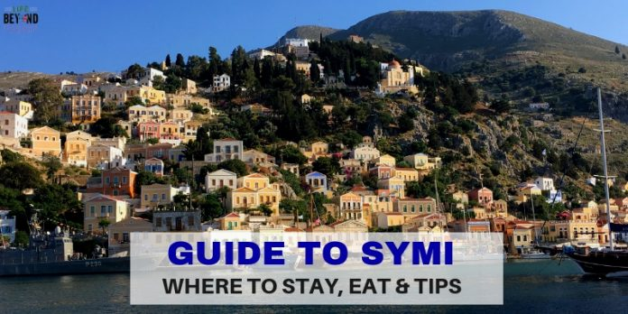 Guide to Symi header - Where to stay, Eat and Tips