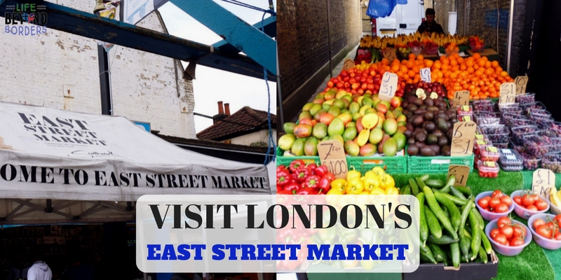 London's East Street Market