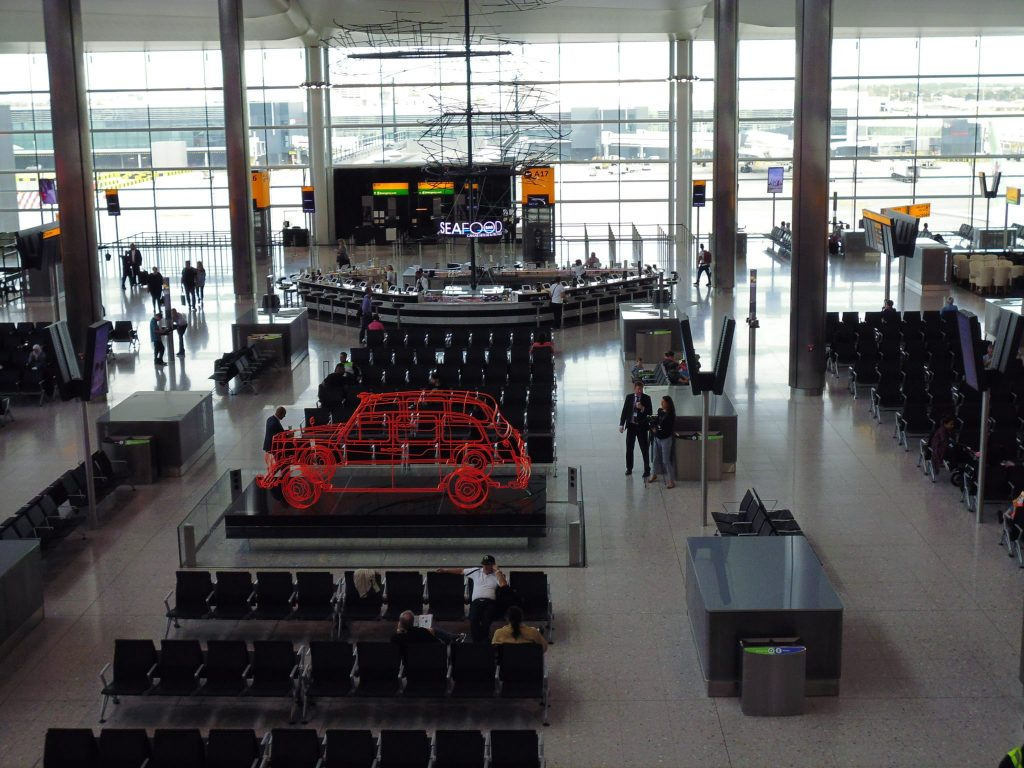 Airside at LHR Terminal Two - the Queen's Terminal - LifeBeyondBorders