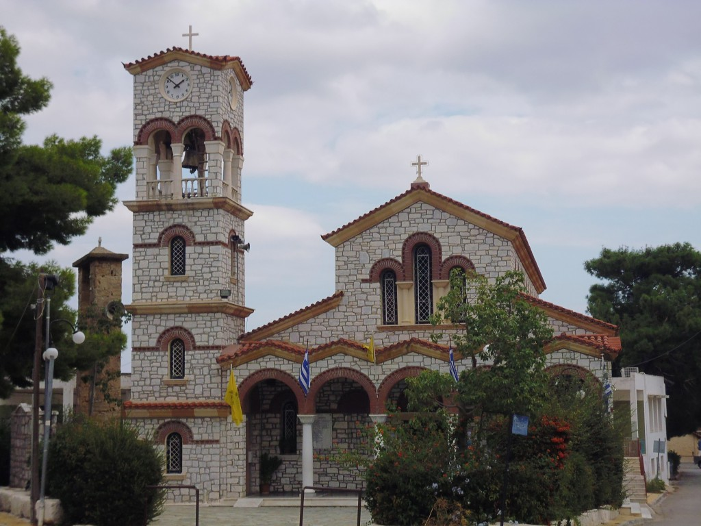 Church in Paenia town