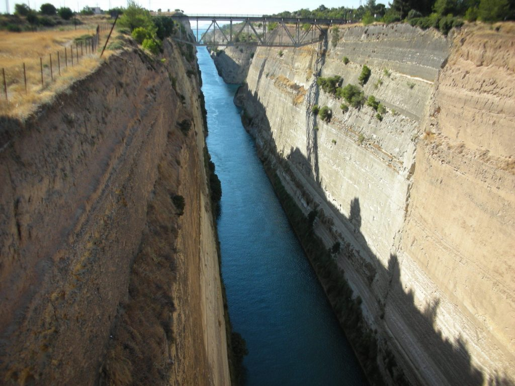 Corinth Canal to the Peloponnese in Greece - LifeBeyondBorders