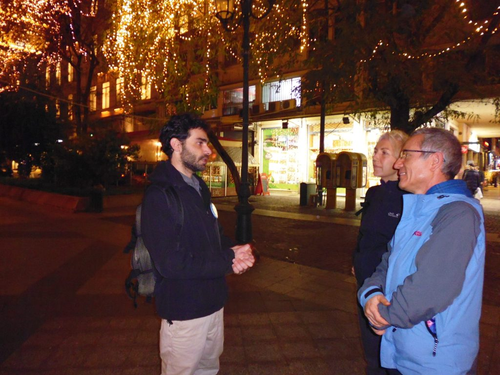 Athens Insider guide - Yannis - getting to know his guests