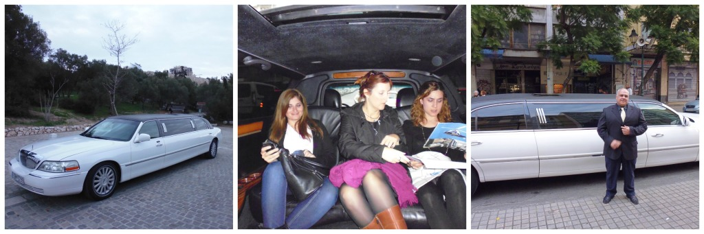 And then whisked off in a limo! Great time at the inaugural Travel Bloggers Greece launch