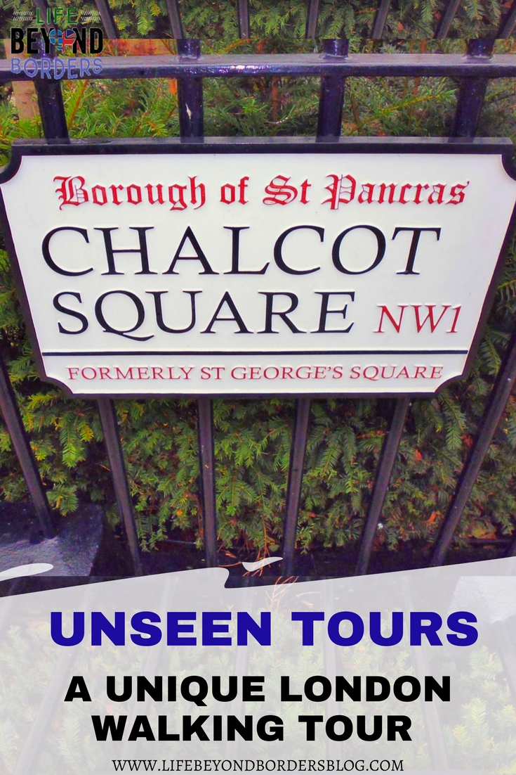 Come with me on a unique London walking tour with Unseen Tours