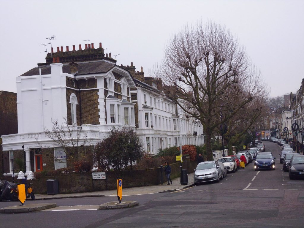 The village like Primrose Hill, Camden. Unseen Tours.