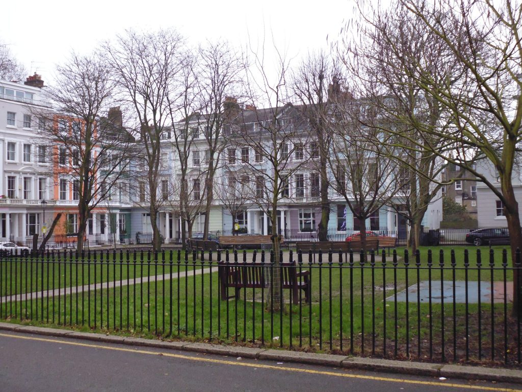 "Chalcot Square - used in filming of ""Paddington"" - Unseen Tours, Camden"