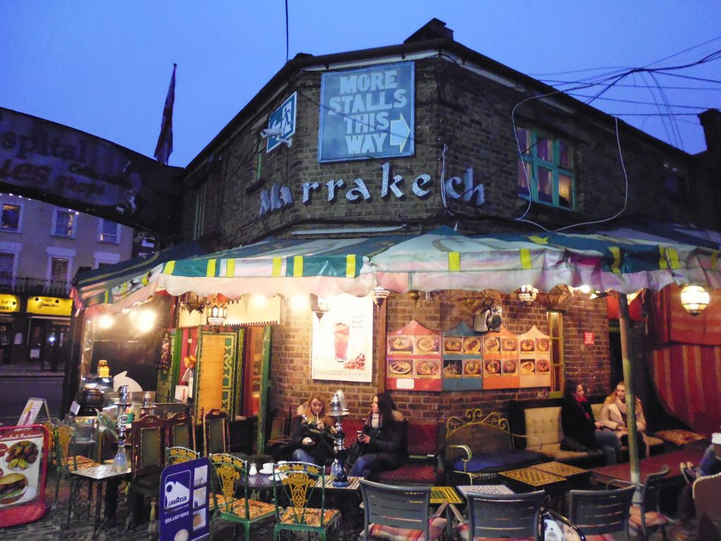 My apple and cinnamon tea served here - Camden Lock Market - Unseen Tours