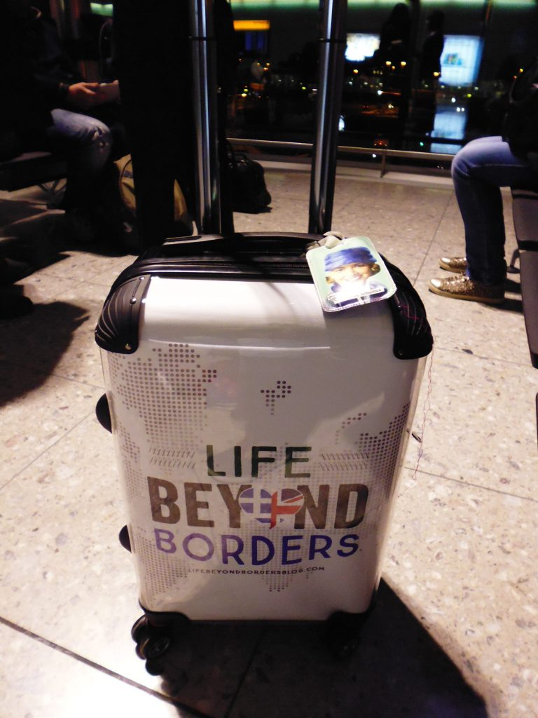 Personalised Luggage at LHR airport