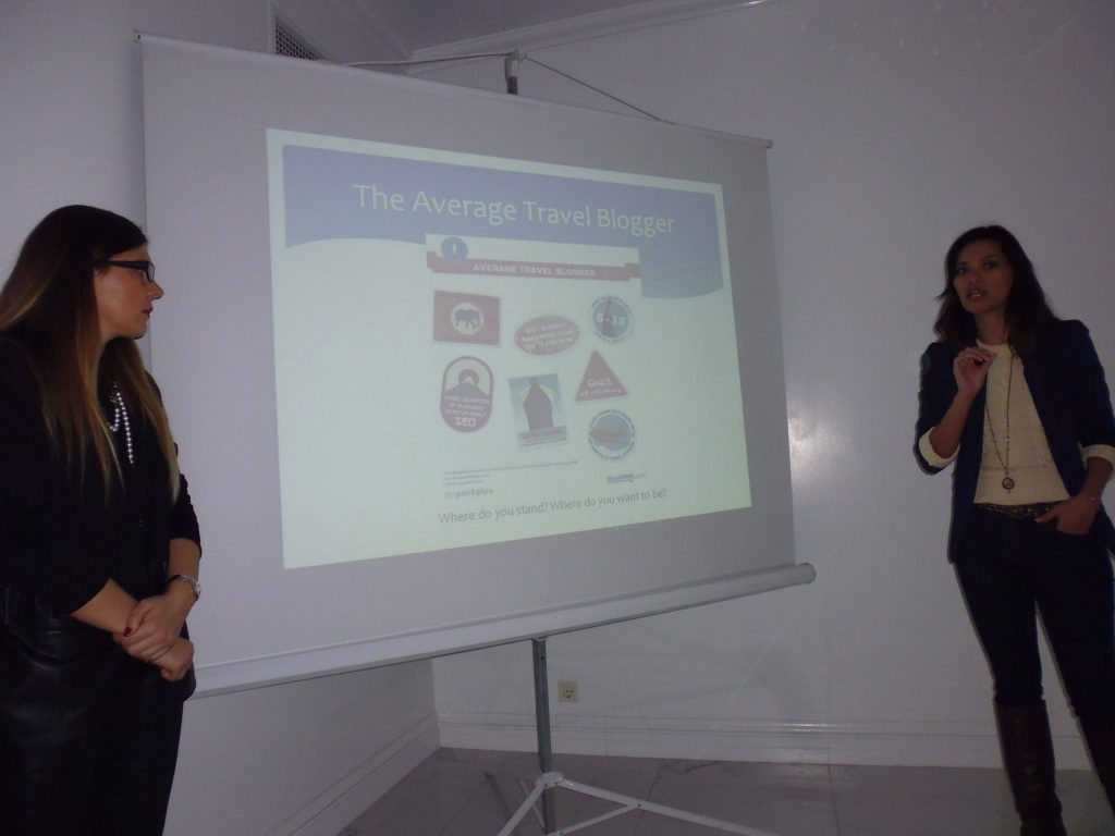 Founders of Travel Bloggers Greece Marissa Tejada and Elena Sergeeva