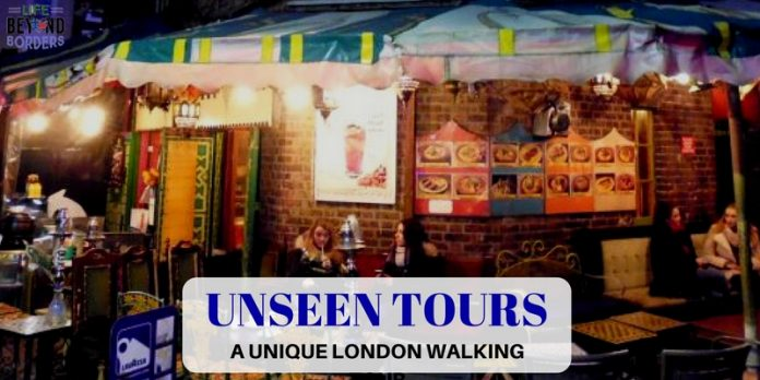 Unseen Tours - a unique London walking tour