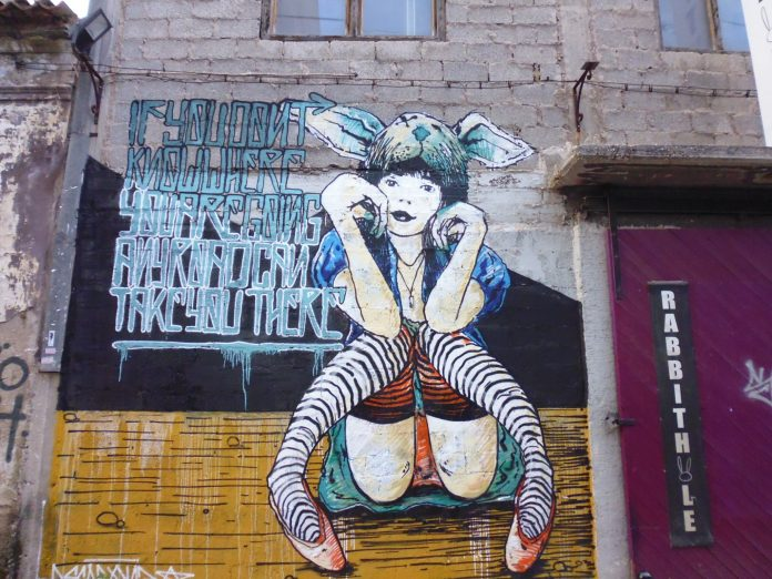 Come on a street art tour of Athens, Greece