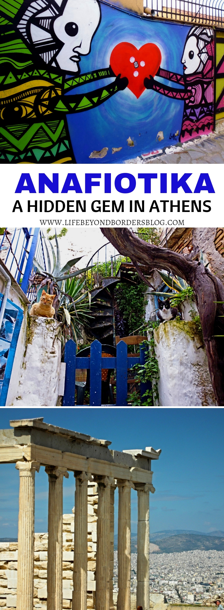 Come and discover Anafiotika - A Hidden Gem in Athens, Greece