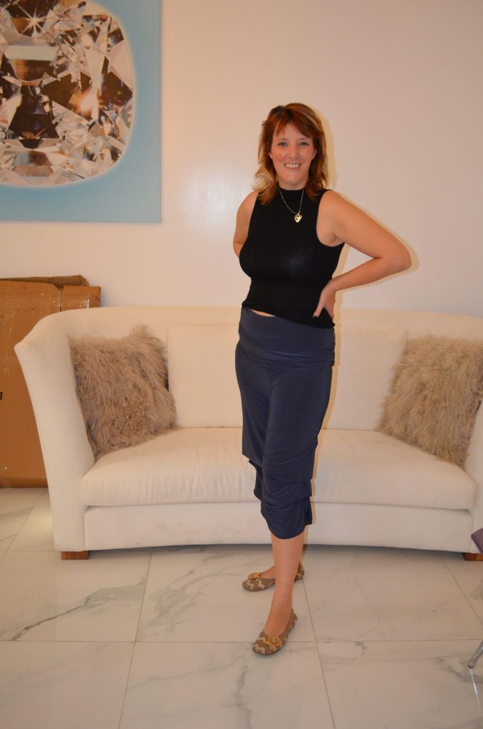 ..that become culottes. Diane Kroe Travel Clothing.